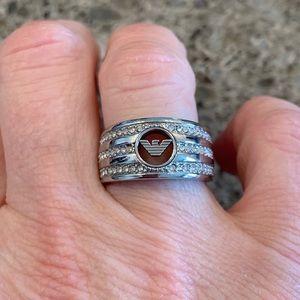 Emporio Armani Women's Stainless Steel Ring